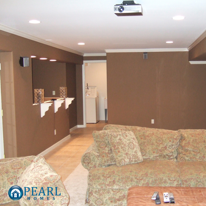 Pearl Homes Finished Basements